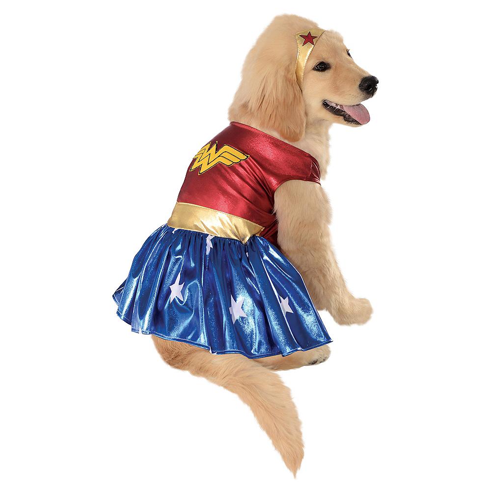 Wonder Woman Dog Costume Image #1