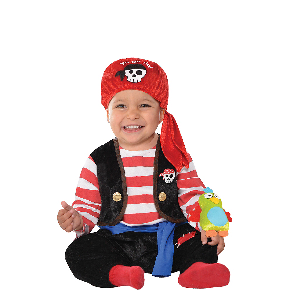 Nav Item for Baby Buccaneer Pirate Costume Image #1