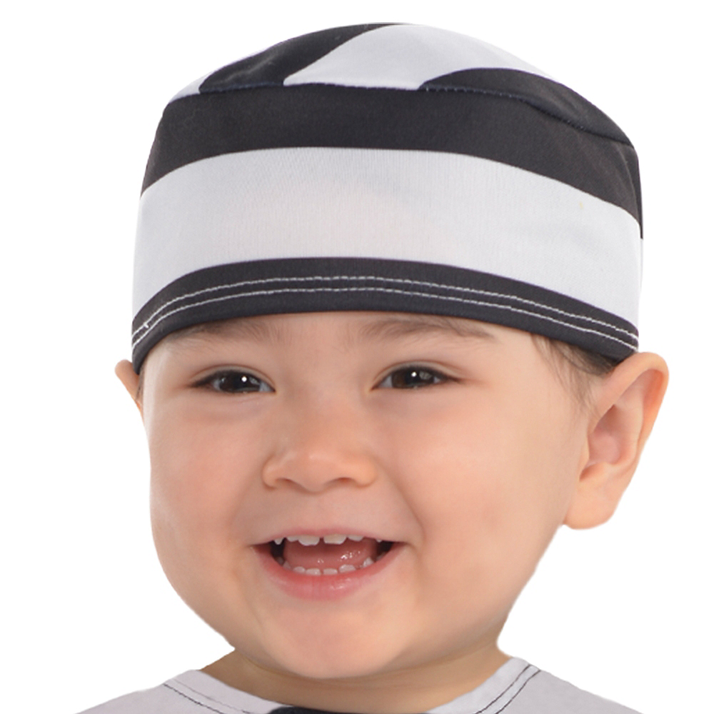 Nav Item for Baby Lil' Lawbreaker Prisoner Costume Image #2