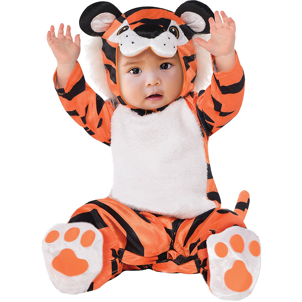 Baby Tiny Tiger Costume Image #1
