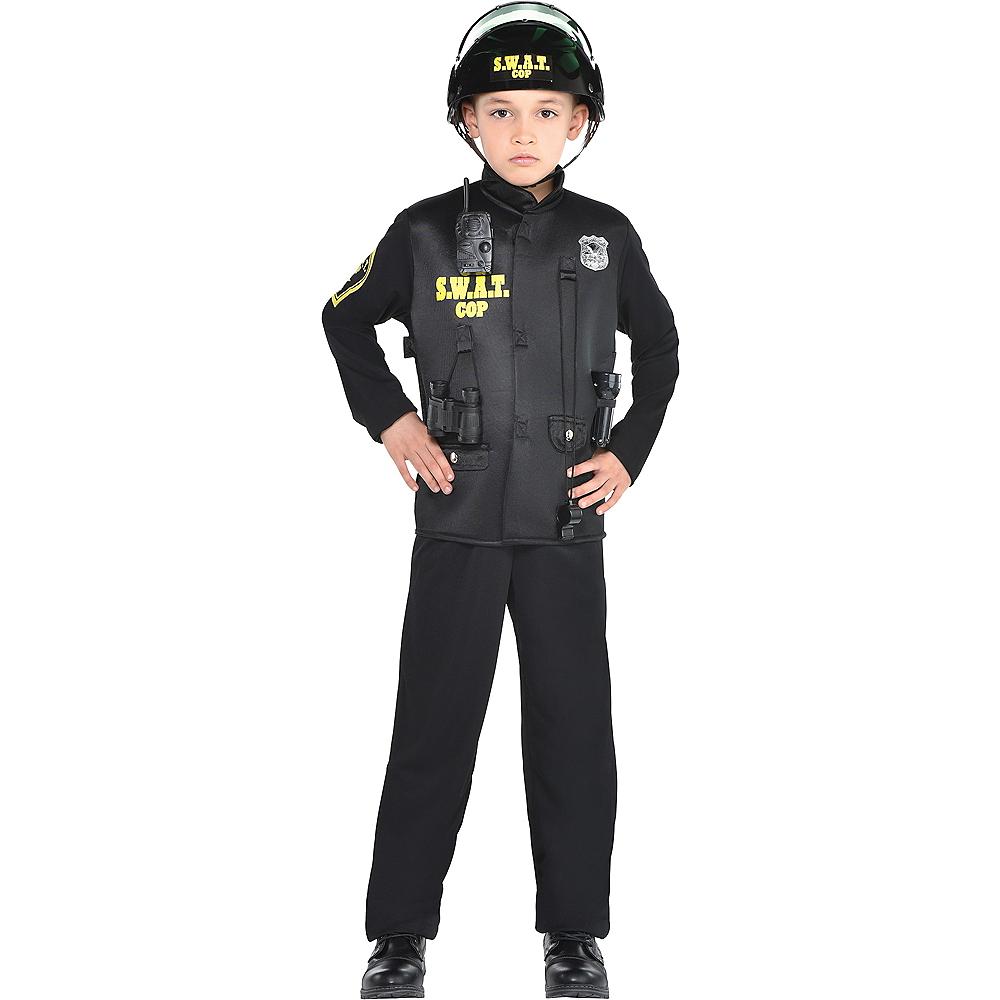Boys SWAT Cop Costume Image #1
