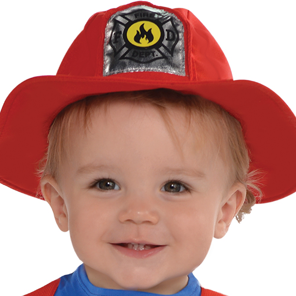 Baby First Fireman Costume Image #2