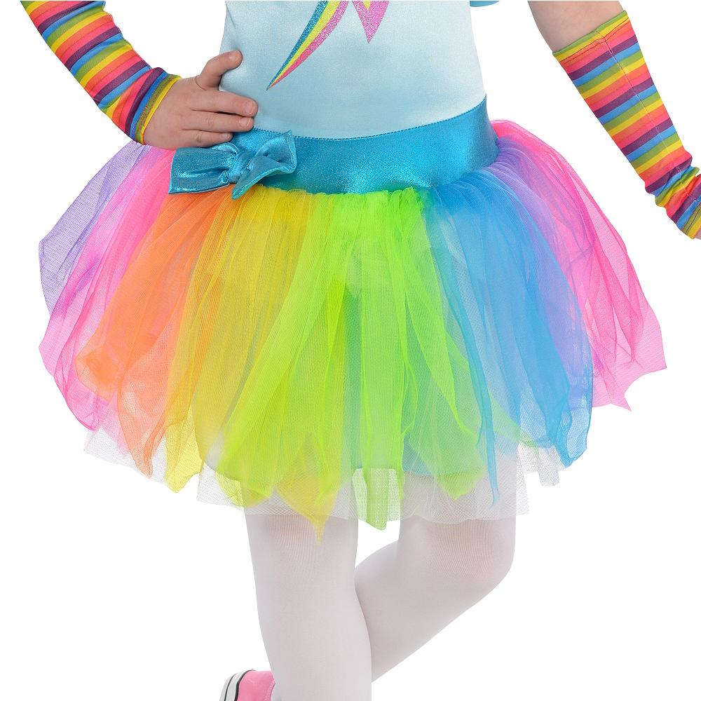 Toddler Girls Rainbow Dash Costume - My Little Pony Image #4