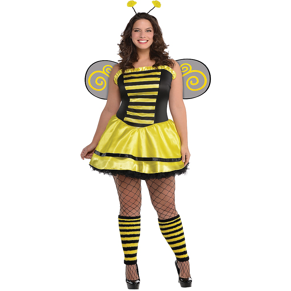 Adult Bumble Beauty Bee Costume Plus Size | Party City
