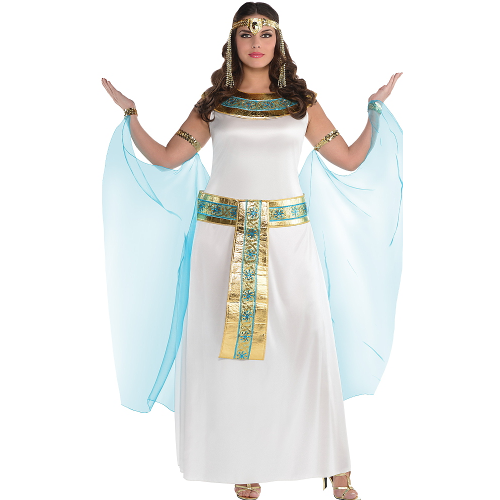 Adult Queen Cleopatra Costume Plus Size Image #1