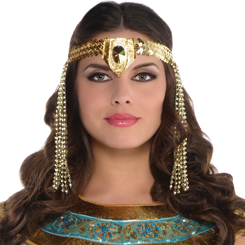 Adult Queen Cleopatra Costume Plus Size Image #2