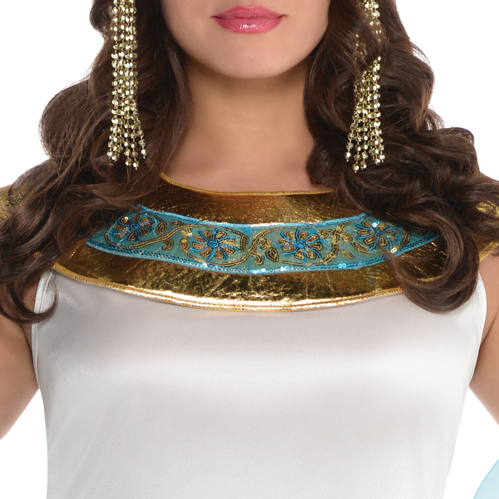 Adult Queen Cleopatra Costume Plus Size Image #3