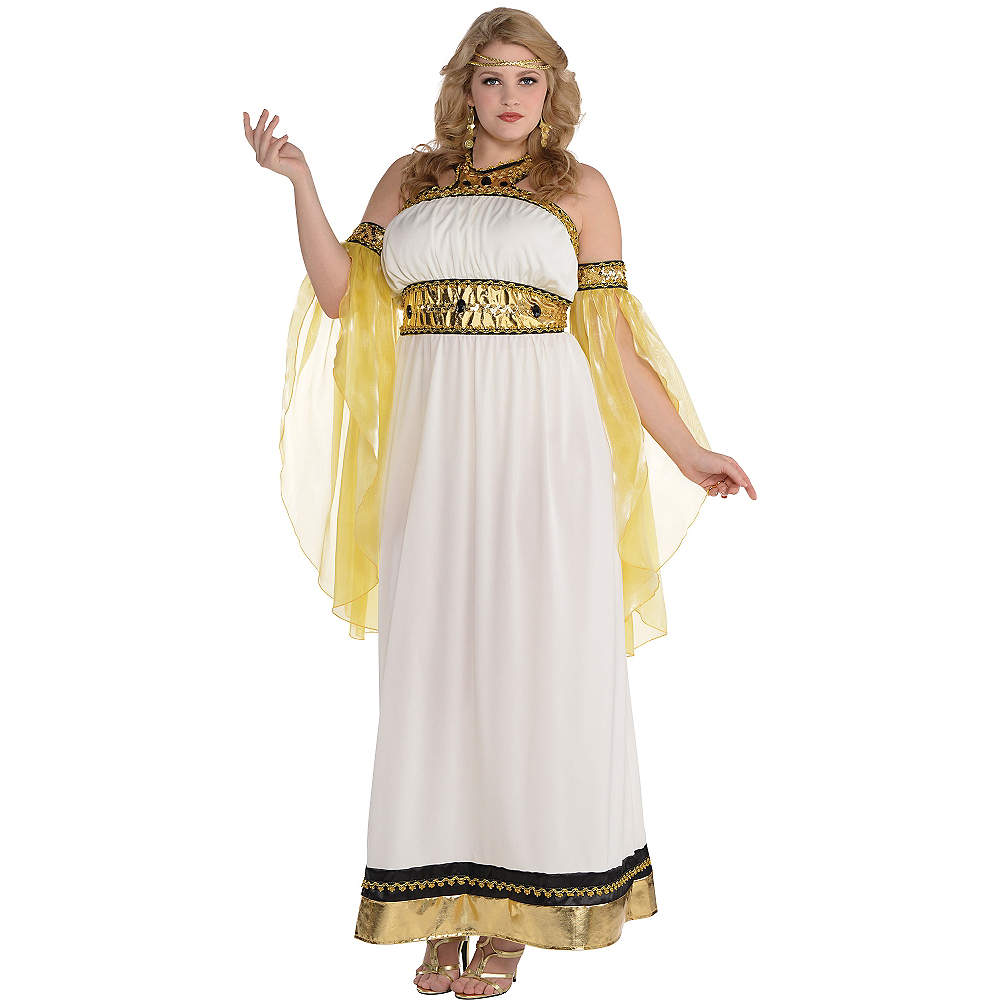 Nav Item for Adult Divine Goddess Costume Plus Size Image #1