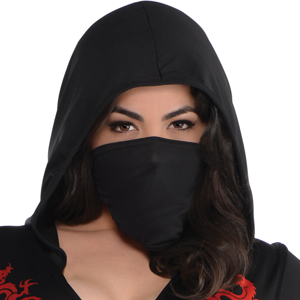 Adult Dragon Fighter Ninja Costume Plus Size Image #2