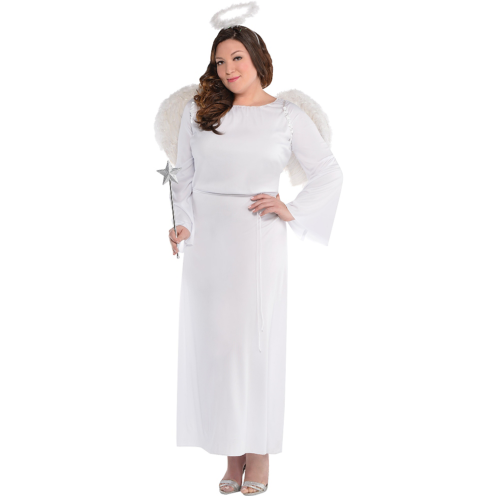 Adult Heaven Sent Angel Costume Plus Size