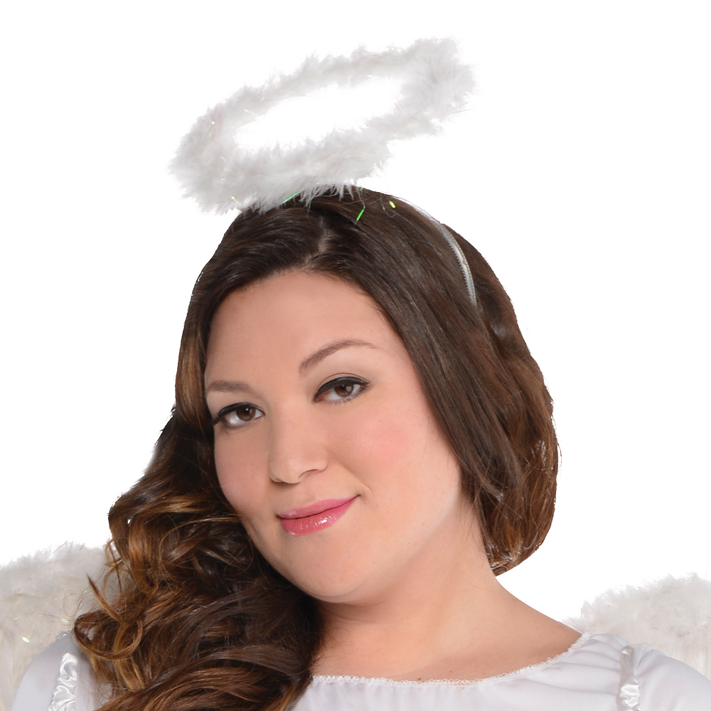Adult Heaven Sent Angel Costume Plus Size Image #2