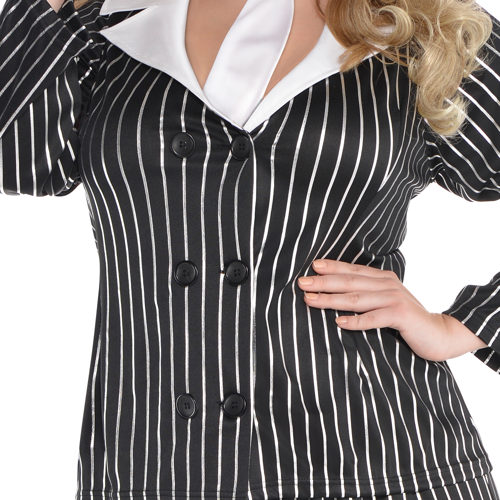 Adult Mob Wife Costume Plus Size Image #4