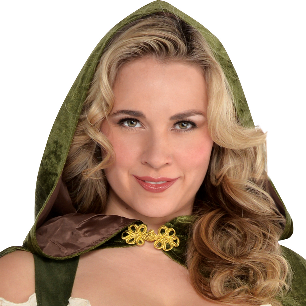 Adult Lady Robin Hood Costume Plus Size Image #2
