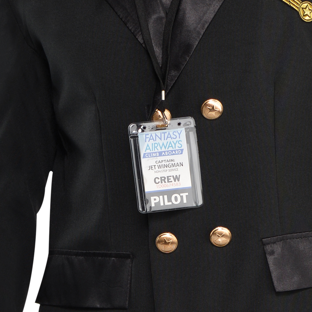 Adult Captain Wingman Pilot Costume Image #4