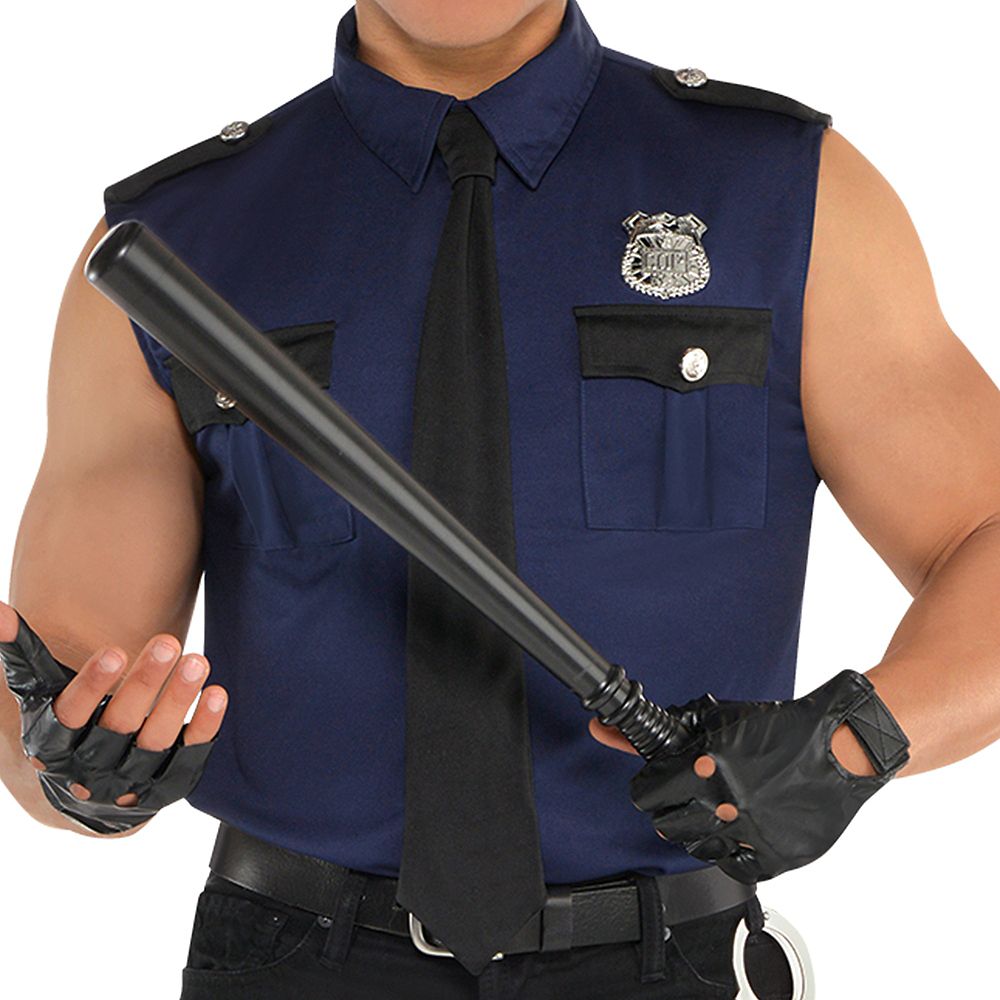 Adult Under Arrest Cop Costume Image #3
