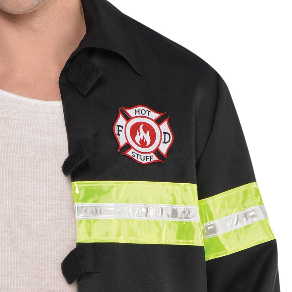 Adult Rescue Me Firefighter Costume Image #4