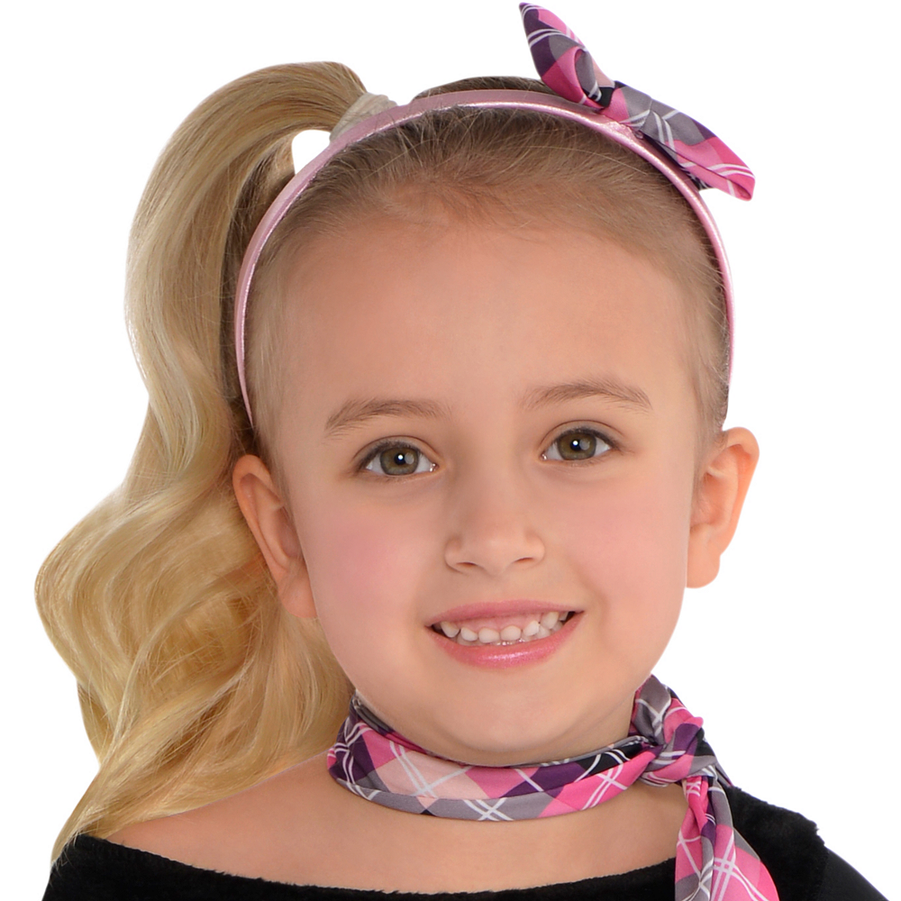 Toddler Girls Miss Sock Hop Costume Image #2