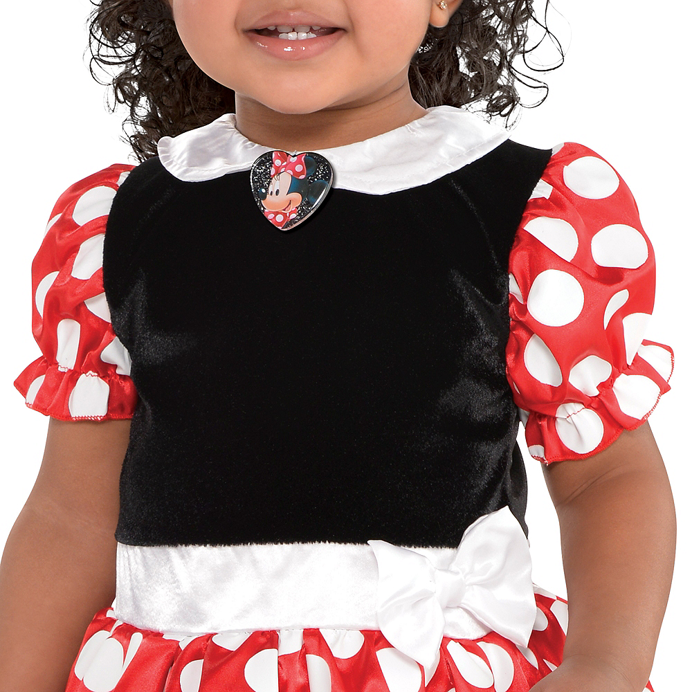 Baby Red Minnie Mouse Costume Image #3