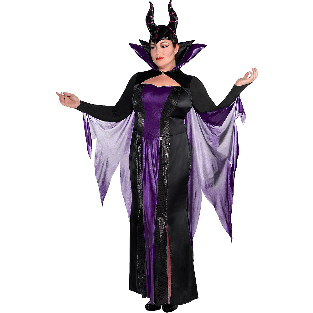 380f157245 Adult Maleficent Costume Couture Plus Size - Sleeping Beauty Image  1 ...