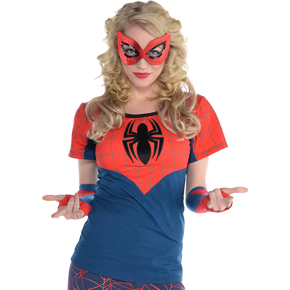 Spider-Girl Fitted T-Shirt Image #1