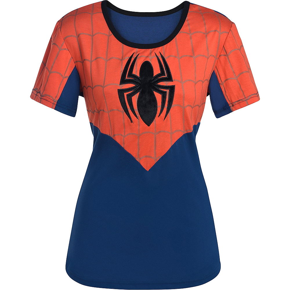 Spider-Girl Fitted T-Shirt Image #2