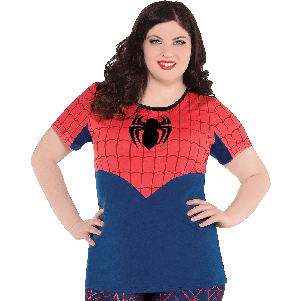 Spider-Girl Fitted T-Shirt Image #3