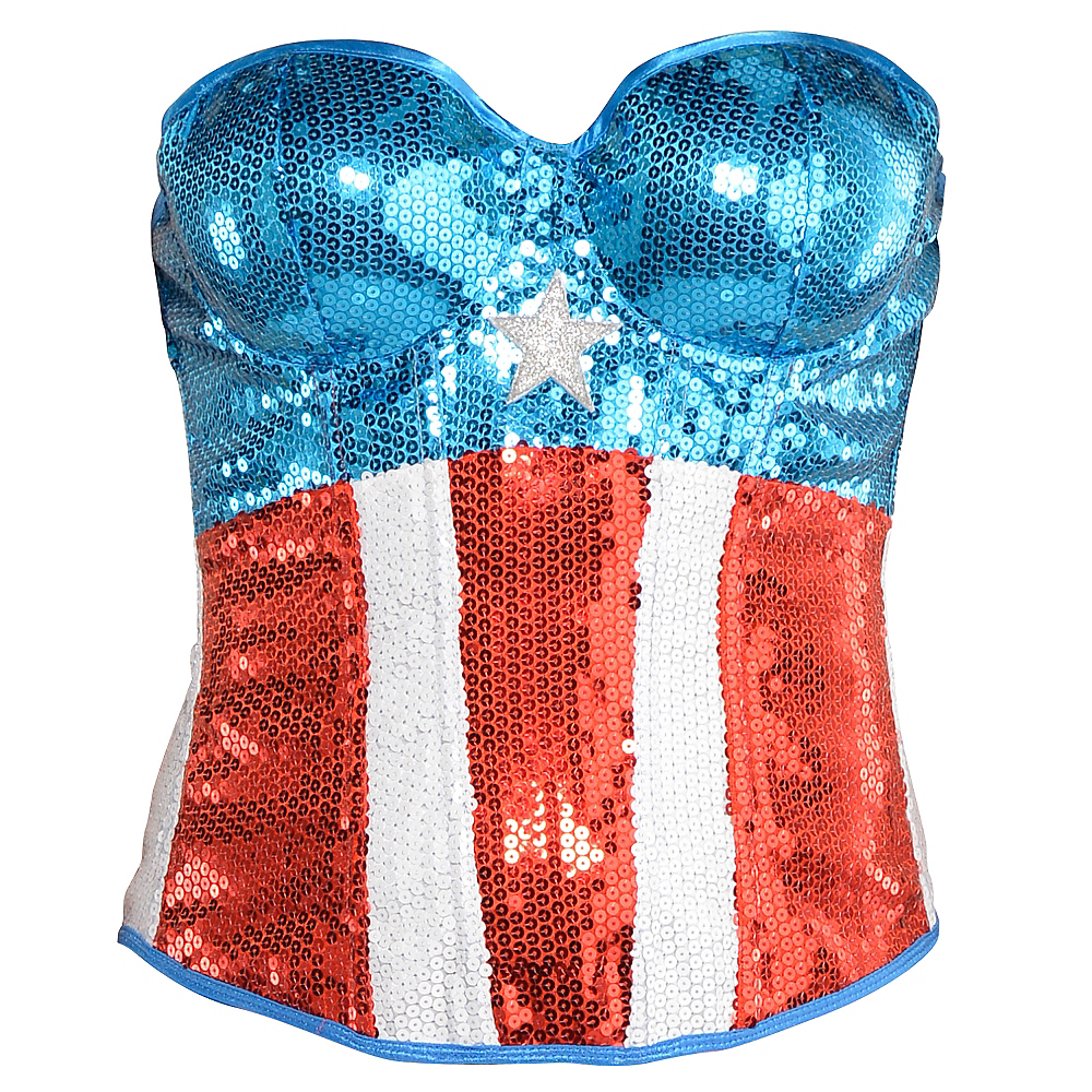 Sequin American Dream Bustier Image #1