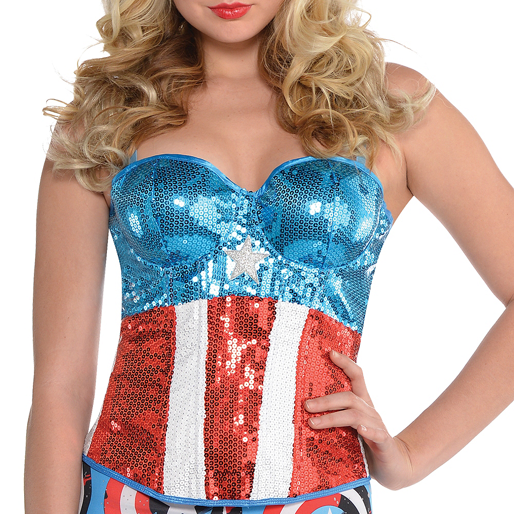 Sequin American Dream Bustier Image #2