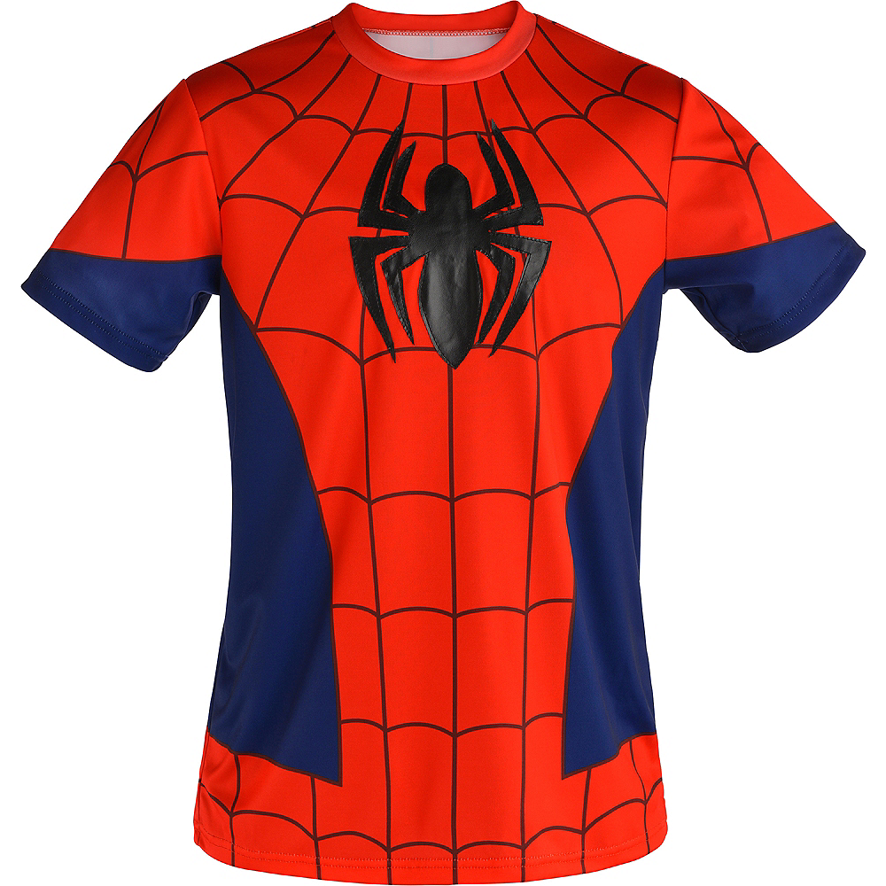 Nav Item for Child Spider-Man T-Shirt Image #2