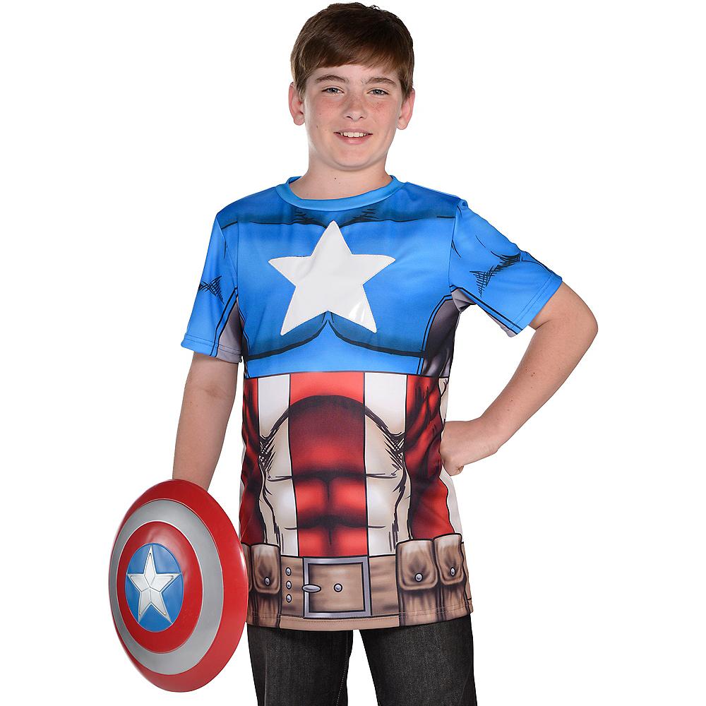 Child Captain America T-Shirt Image #1