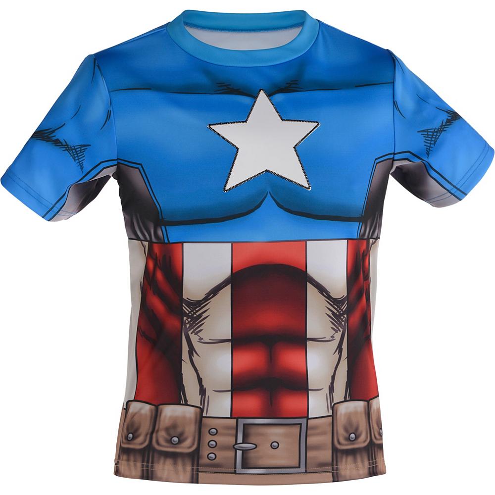 Child Captain America T-Shirt Image #2