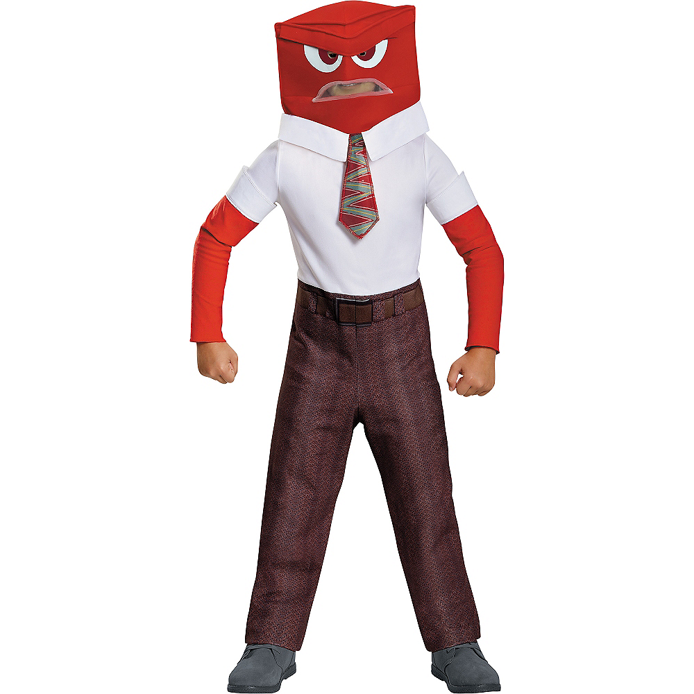 Boys Anger Costume Classic - Inside Out Image #1