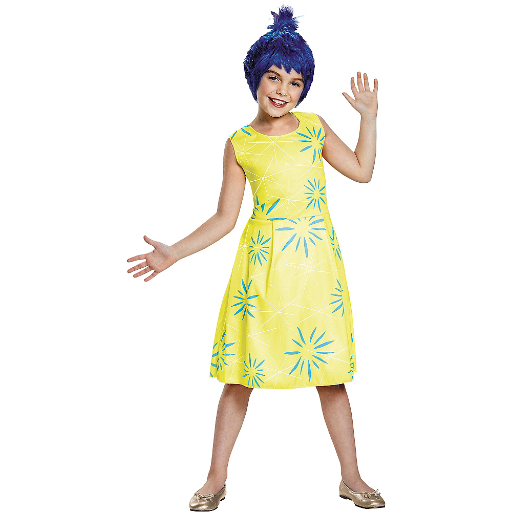 Girls Joy Costume Classic - Inside Out Image #1
