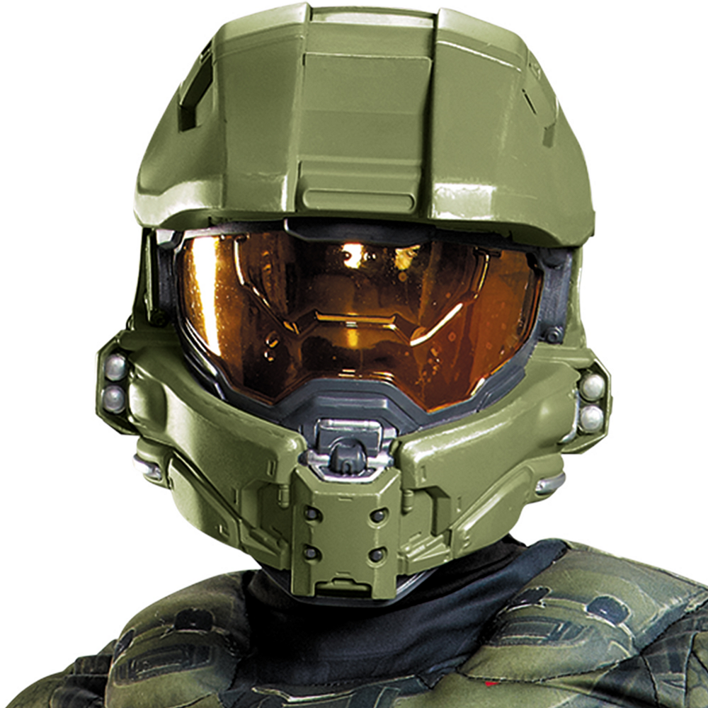 Boys Master Chief Muscle Costume Classic - Halo Image #2