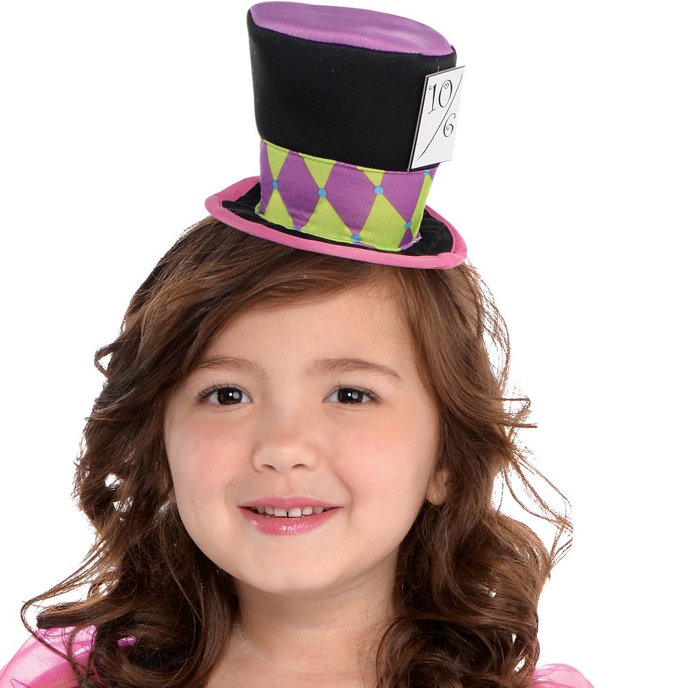 Toddler Girls Miss Mad Hatter Costume Image #2