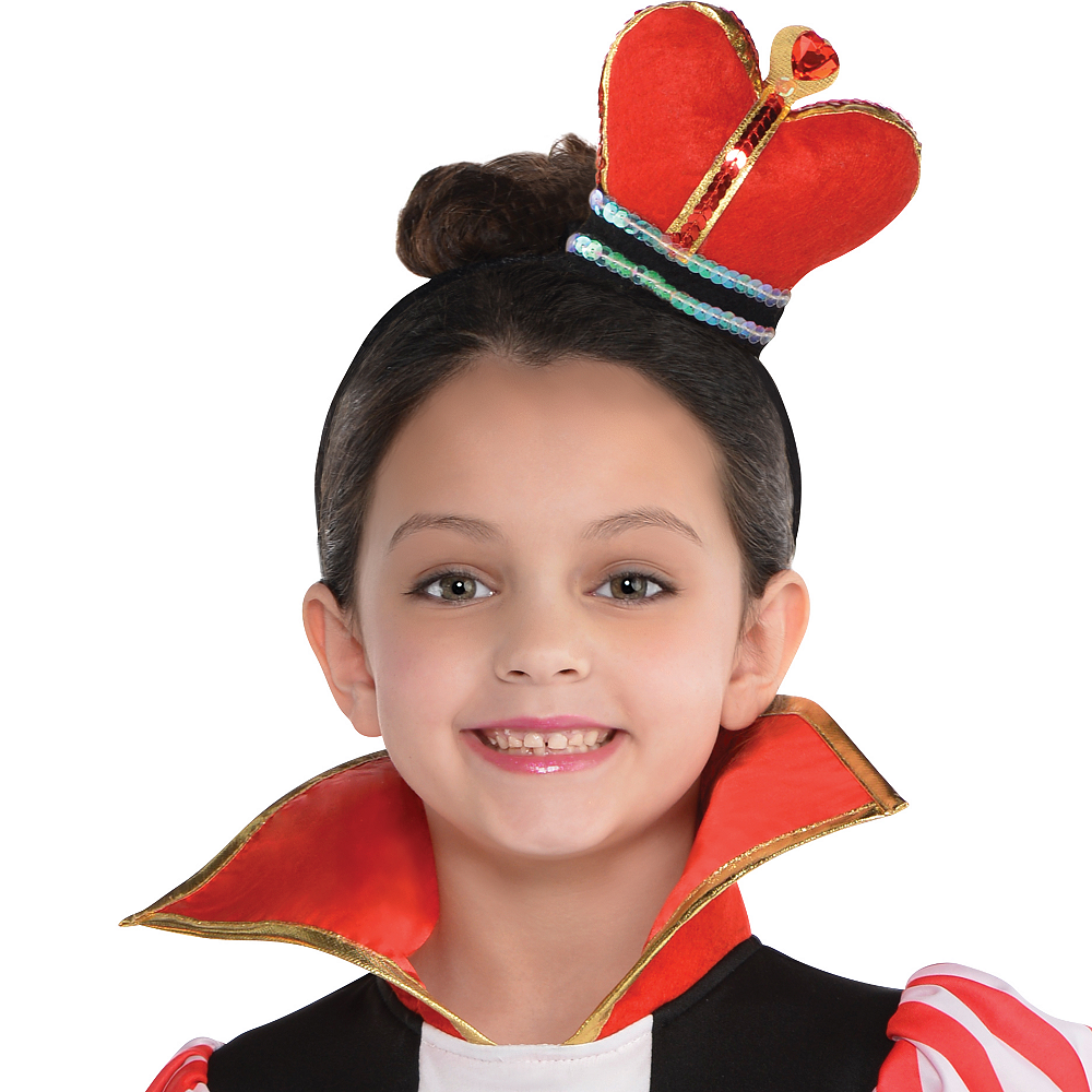 Toddler Girls Queen of Hearts Costume Image #2