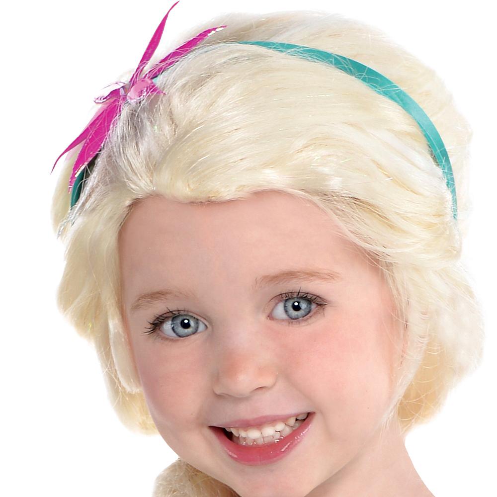 Girls Elsa Costume Supreme - Frozen Fever Image #2
