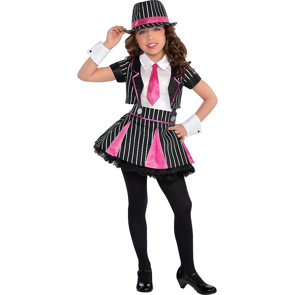 9b154ce7546 Girls Mob Doll Gangster Costume Image  1 ...