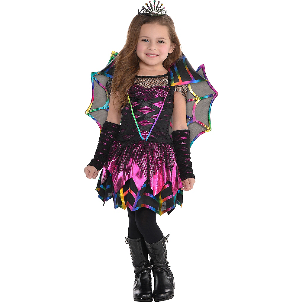 Nav Item for Toddler Girls Spider Fairy Costume Image #1 ...