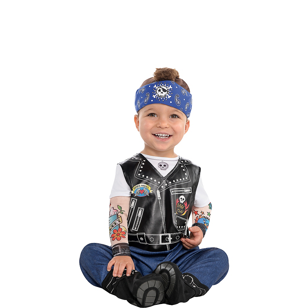 Baby Biker Costume Image #1