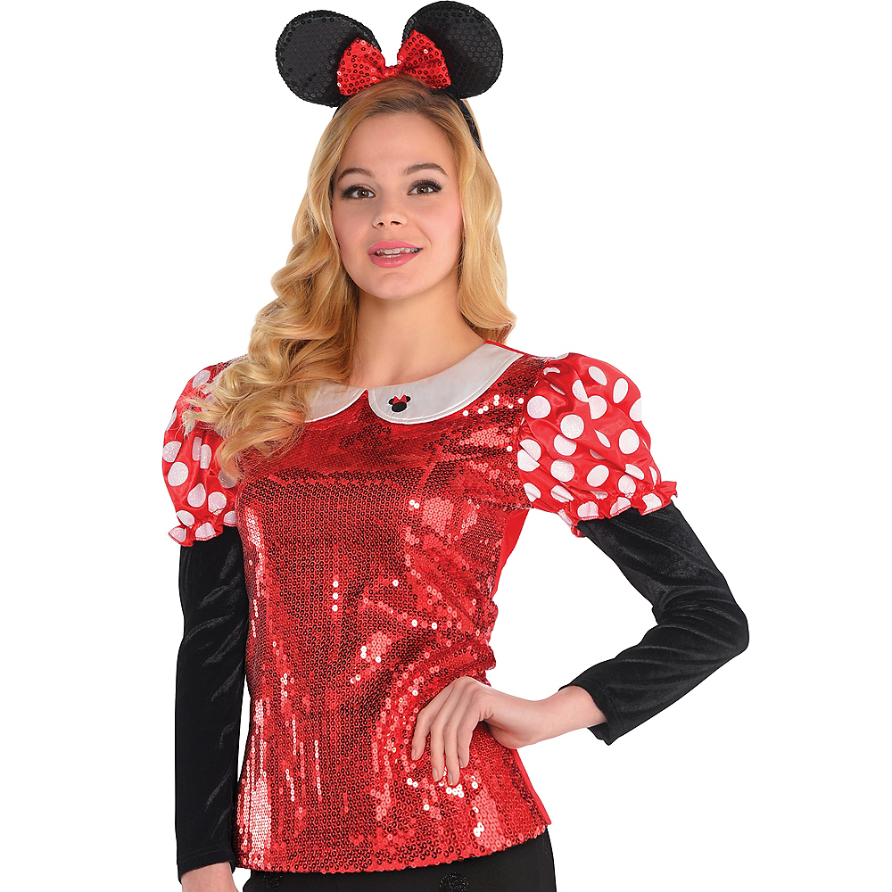 Sequin Minnie Mouse Shirt Image #1