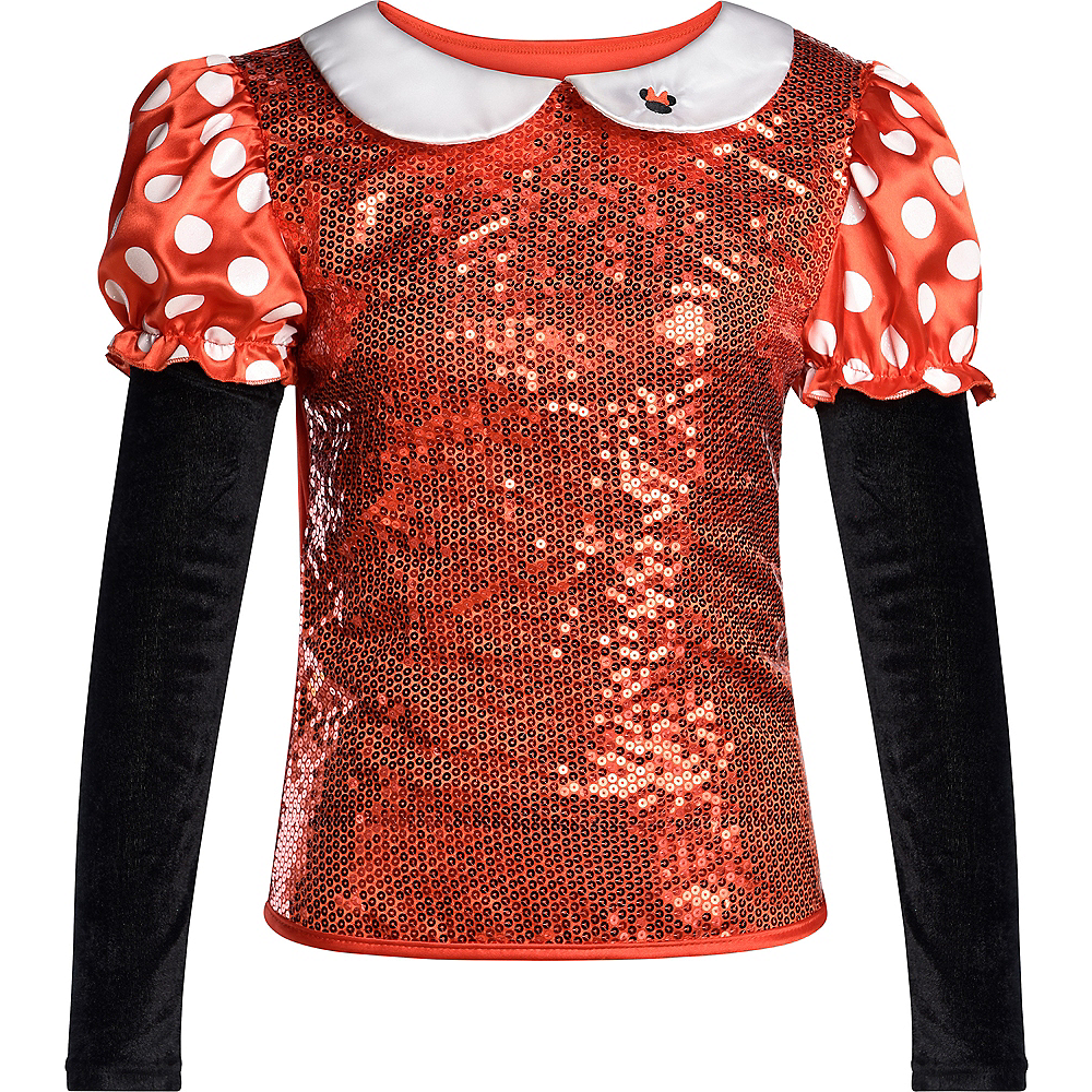Sequin Minnie Mouse Shirt Image #2