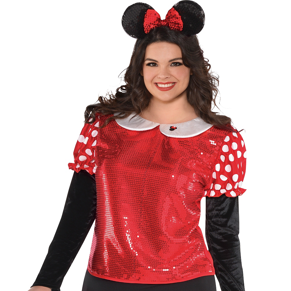 Sequin Minnie Mouse Shirt Image #3