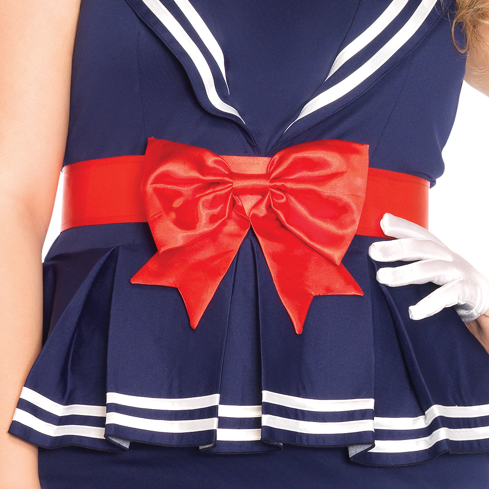 Adult Aye Aye Amy Sailor Costume Plus Size Image #3