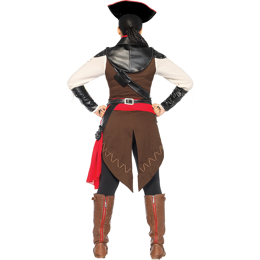 Adult Aveline Pirate Costume - Assassin's Creed III Image #2