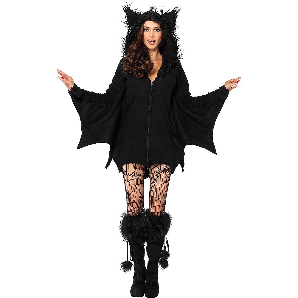 Adult Cozy Bat Costume Image #1