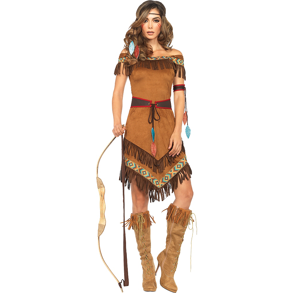 Brand New Native American Female Plus Size Halloween Costume