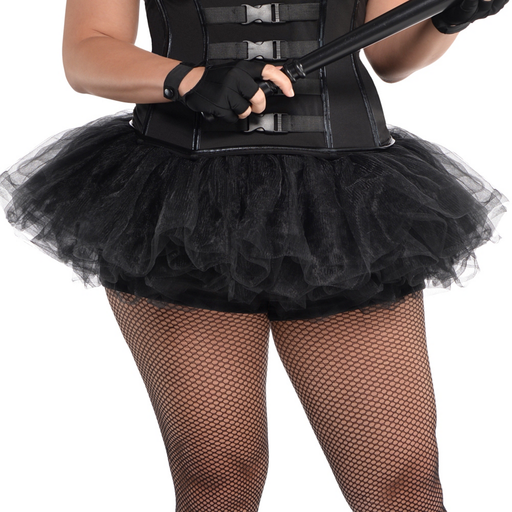 Adult Hot SWAT Costume Plus Size Image #3