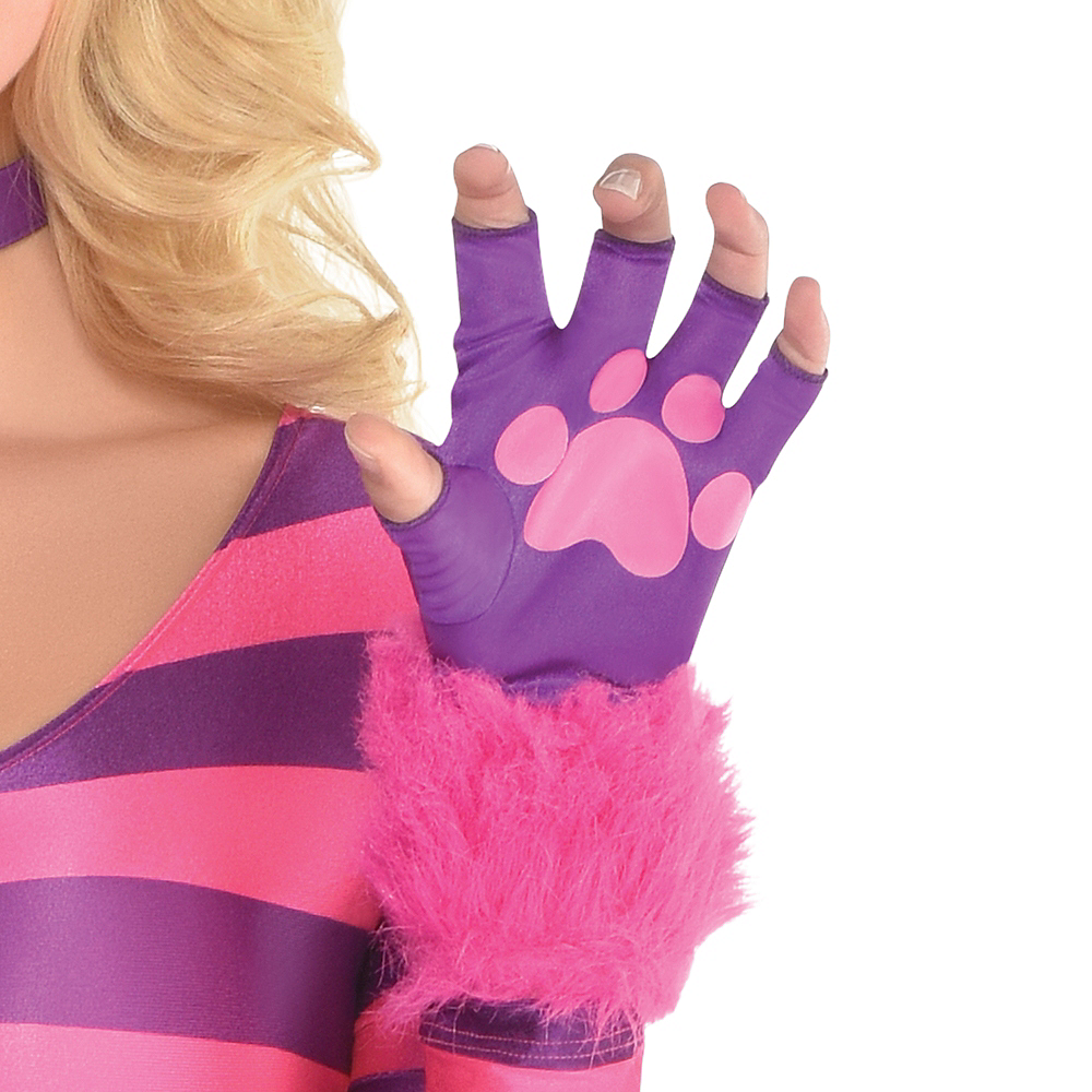 Adult Lady Cheshire Kitty Cat Costume Image #3