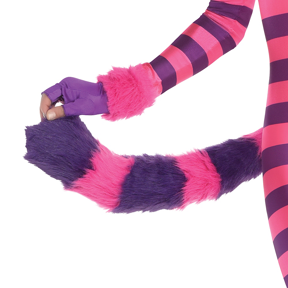 Adult Lady Cheshire Kitty Cat Costume Image #4